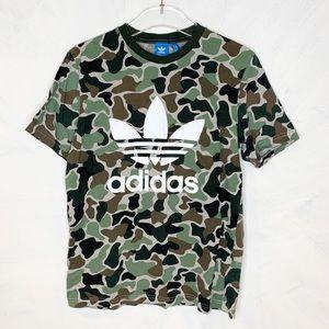 Adidas Camo Trefoil T-shirt